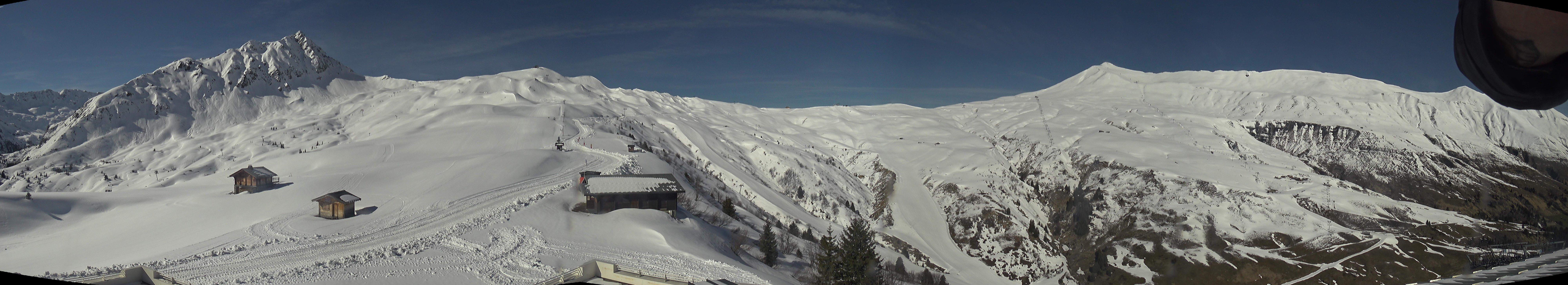 Les Contamines - Col du Joly ski station