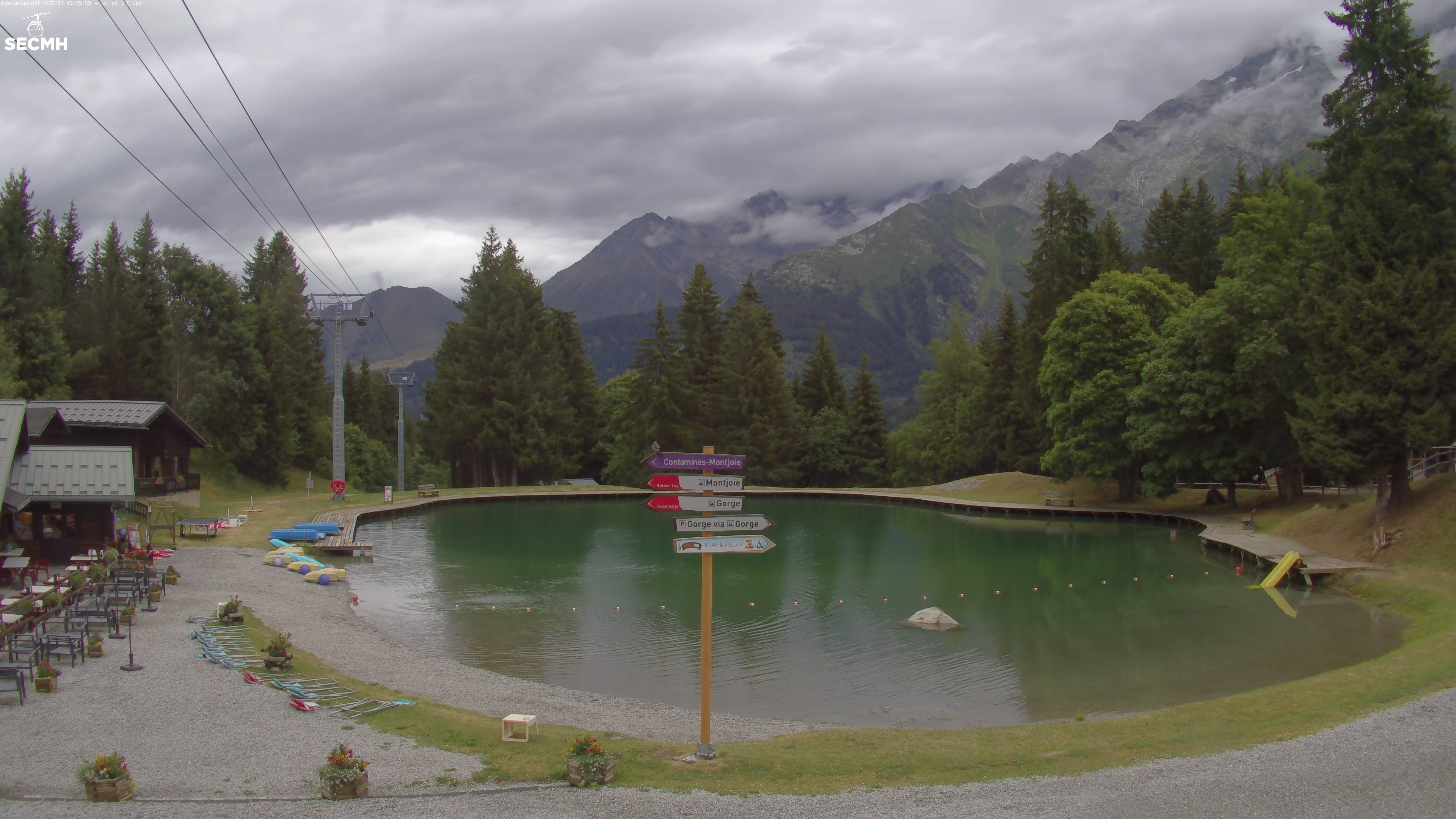 Webcam CONTAMINES MONTJOIE (LES) - Hameaux du Lay