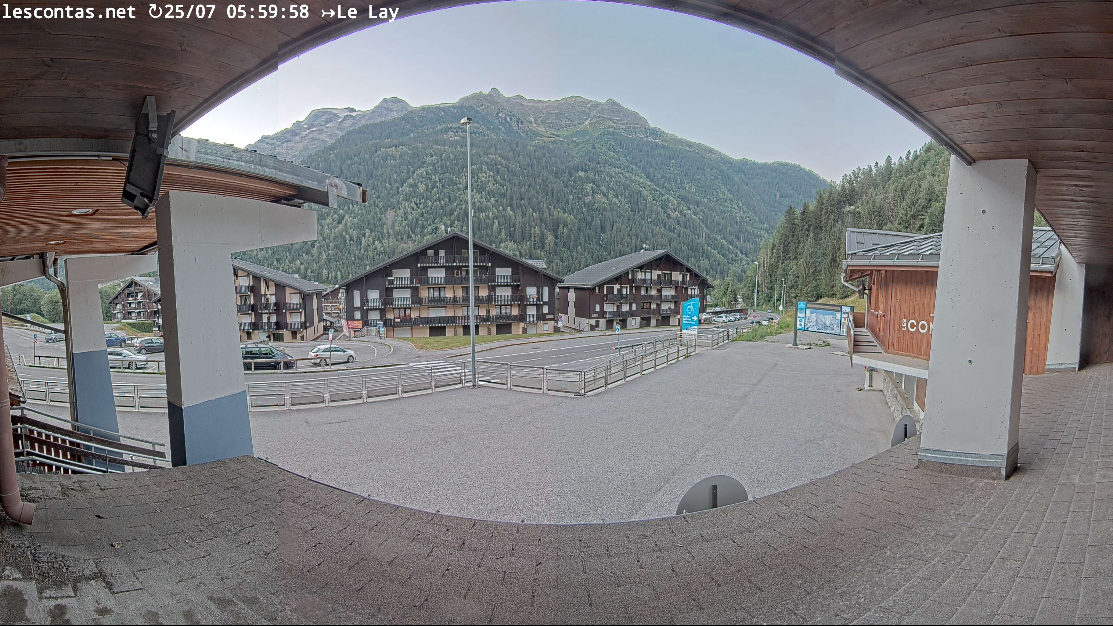 webcam Les Contamines - Montjoie