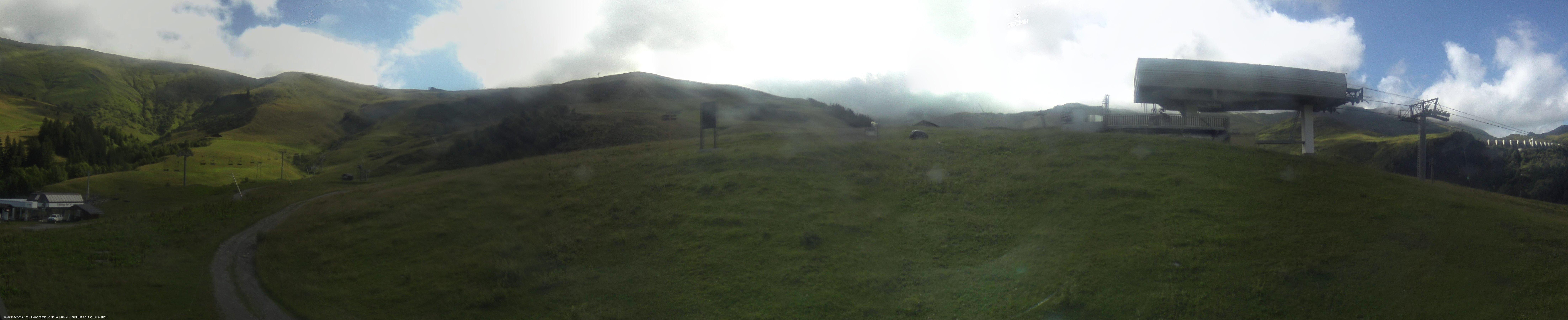 Les Contamines webcam - Ruelle ski station